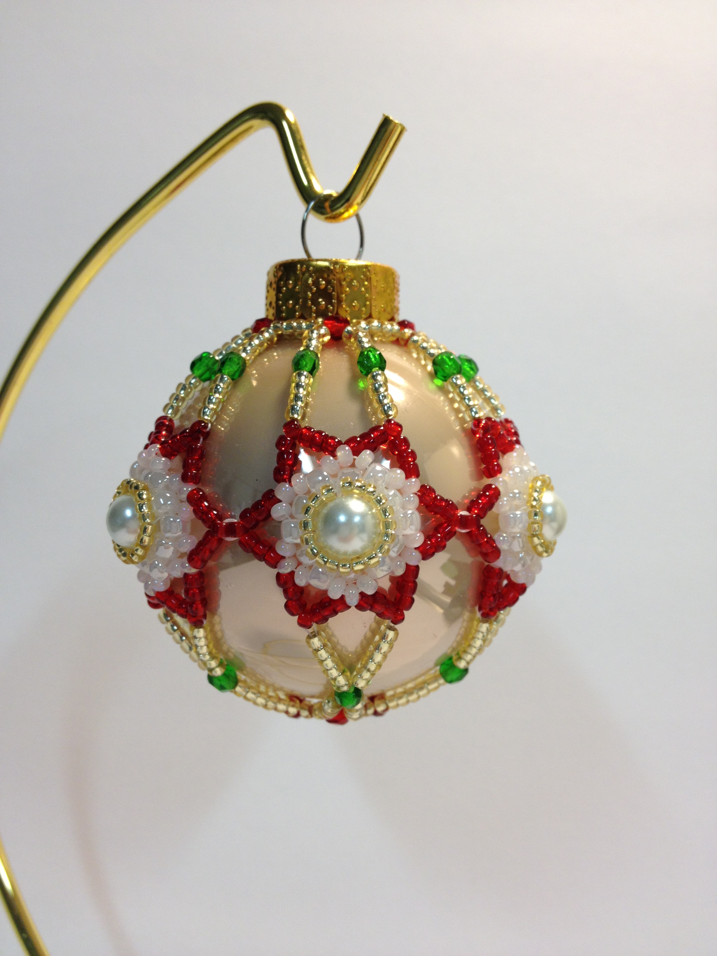 Best 28+ - Christmas Ornament Patterns - beaded christmas ...