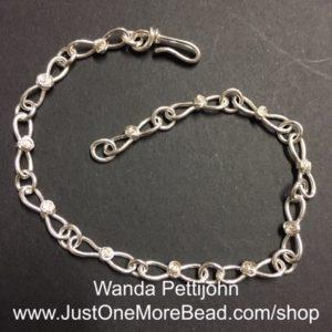 Silverfilled bracelet
